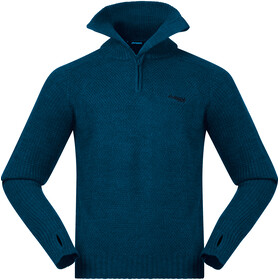 Bergans Ulriken Sweat-shirt Homme, stone blue melange